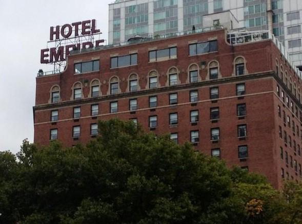 Empire Hotel New York New York State Ny Catchit Com